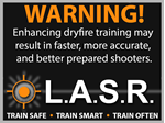 "Picture of LASR ""Warning"" Sticker"
